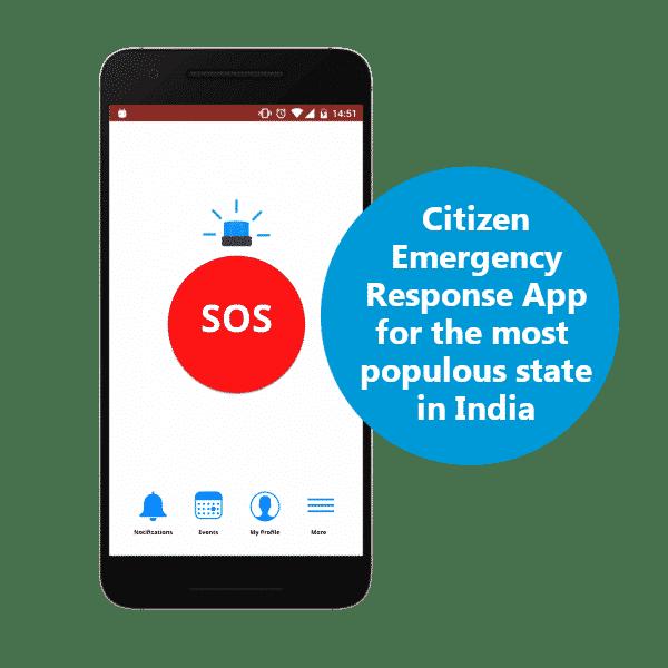 appZUI Solution Showcase: A Citizen Emergency Response app